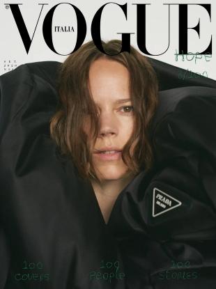Vogue Italia September 2020 by Mark Borthwick