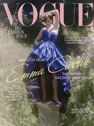 UK Vogue October 2020 : Emma Corrin by Charlotte Wales