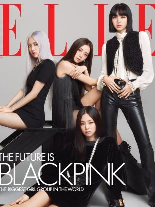US Elle October 2020 : BLACKPINK by Kim Hee June