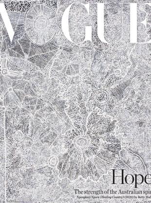 Vogue Australia September 2020 by Betty Muffler