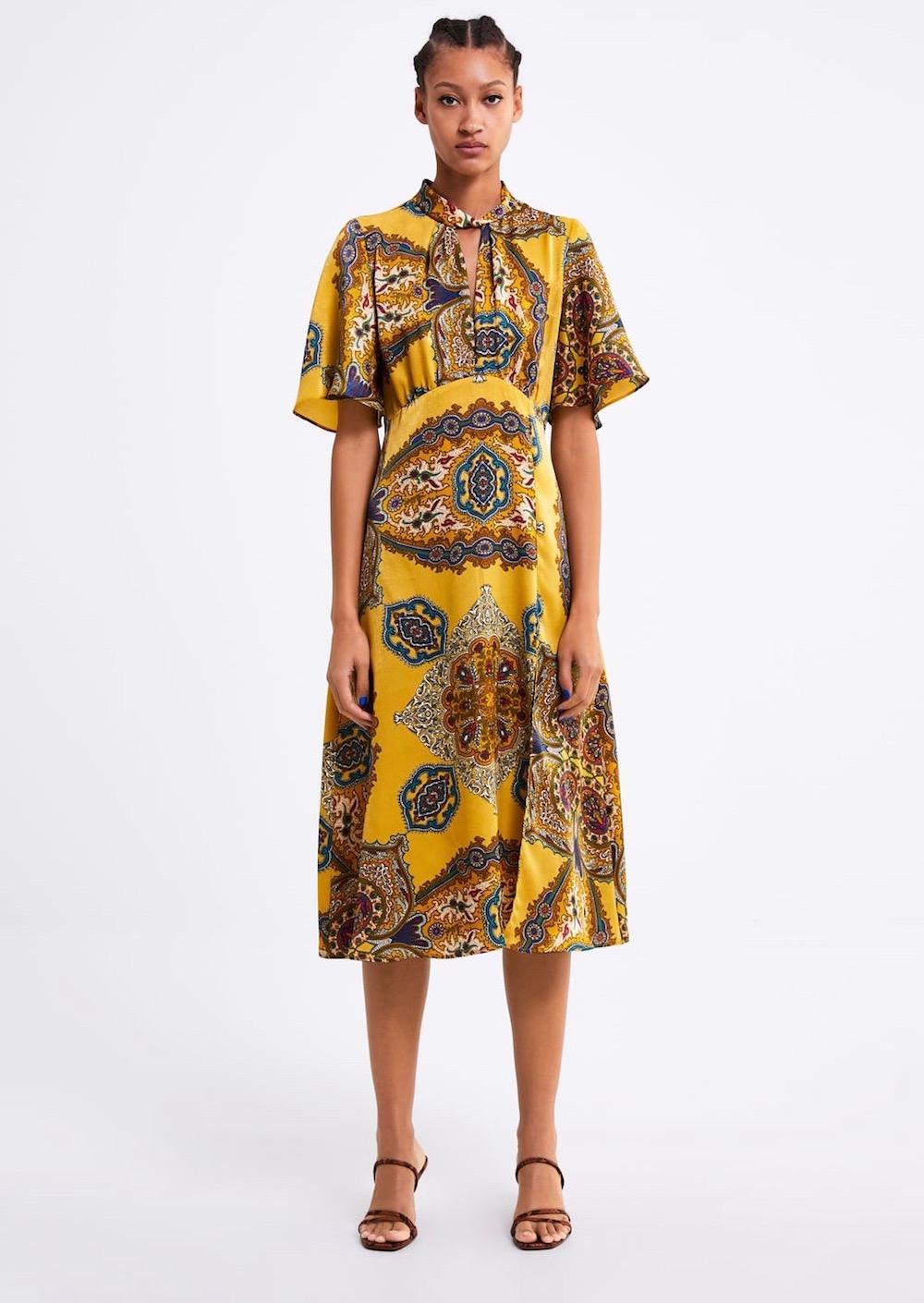 Zara  10 Versatile Dresses That Will Take You From Work to Play Zara Print Dress