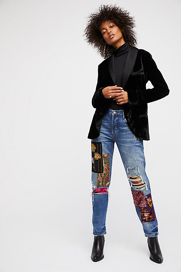 0dcc9b6b6df7 Fashion Trend: Statement Denim Is More Extra Than Ever- theFashionSpot