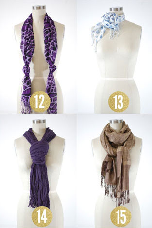 d03ded56338 15 Chic and Creative Ways to Tie a Scarf - theFashionSpot