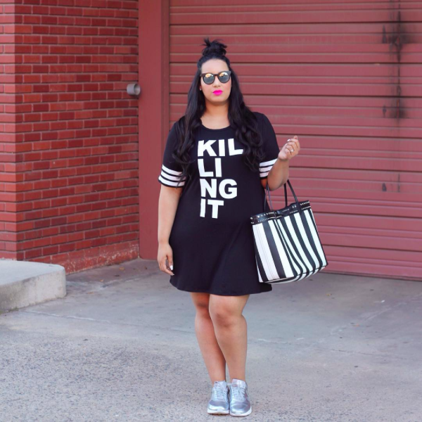 165dbc30d2 Plus-Size Fashion Bloggers  Genius Spring Outifits - theFashionSpot