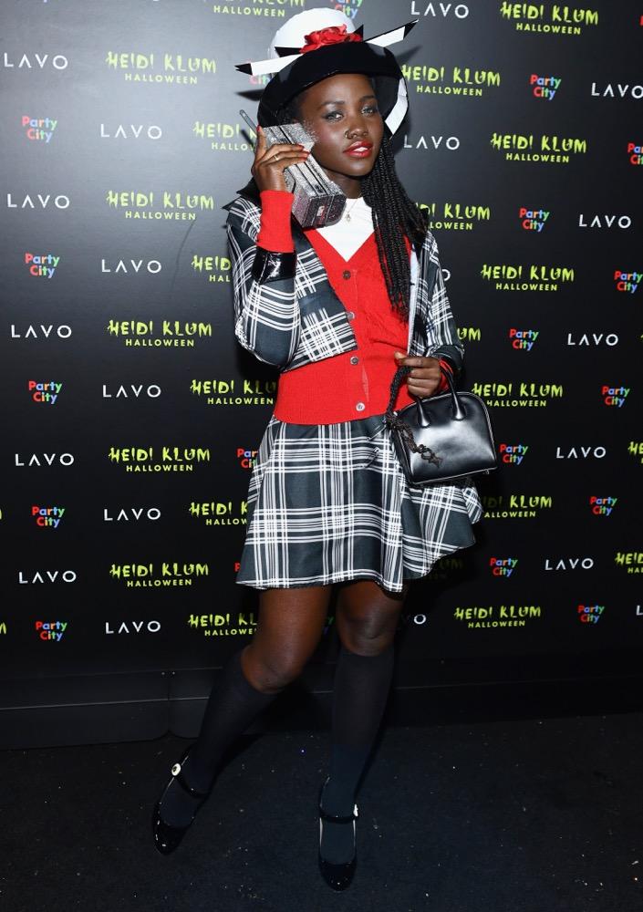 Lupita Nyong'o at Heidi Klum's 19th Annual Halloween Party