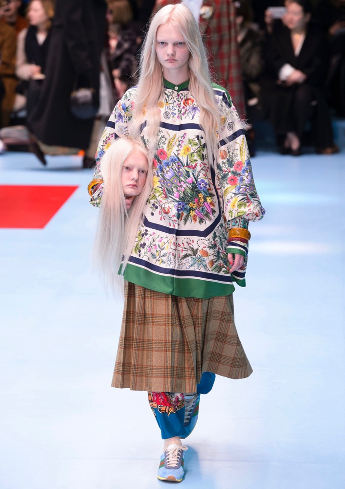Gucci Gives Us Decapitated Heads and Baby Dragons