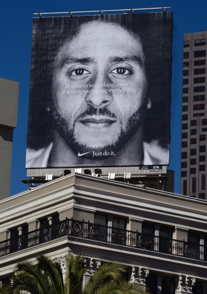 Nike Backs Colin Kaepernick