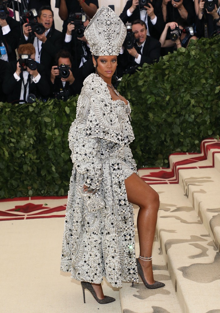 Rihanna Wins the Met Gala