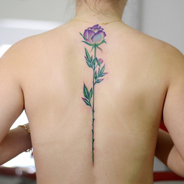 b8e89caf60f7f 37 Flower Tattoos That Are as Beautiful as the Real Thing ...