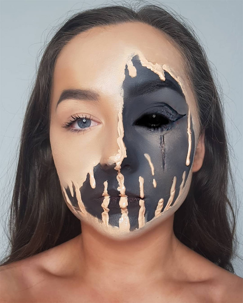 Easy Halloween Makeup Scary.101 Mind Blowing Halloween Makeup Ideas To Try This Year
