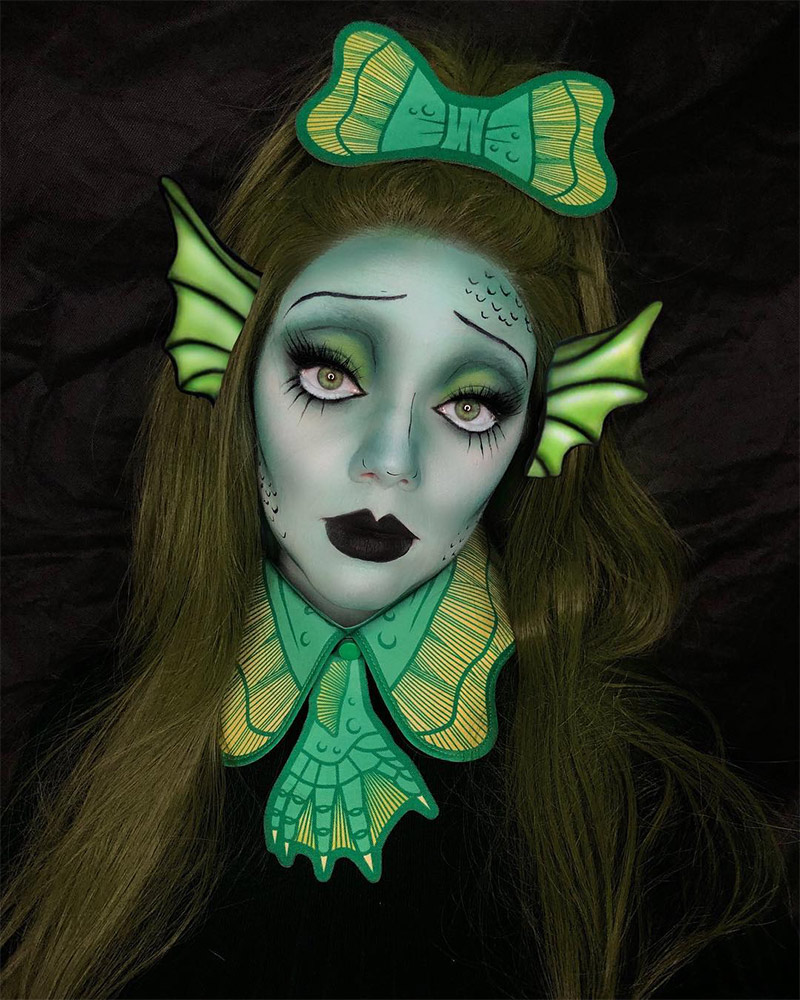 ad7b3a78481 101 Mind-Blowing Halloween Makeup Ideas to Try This Year ...