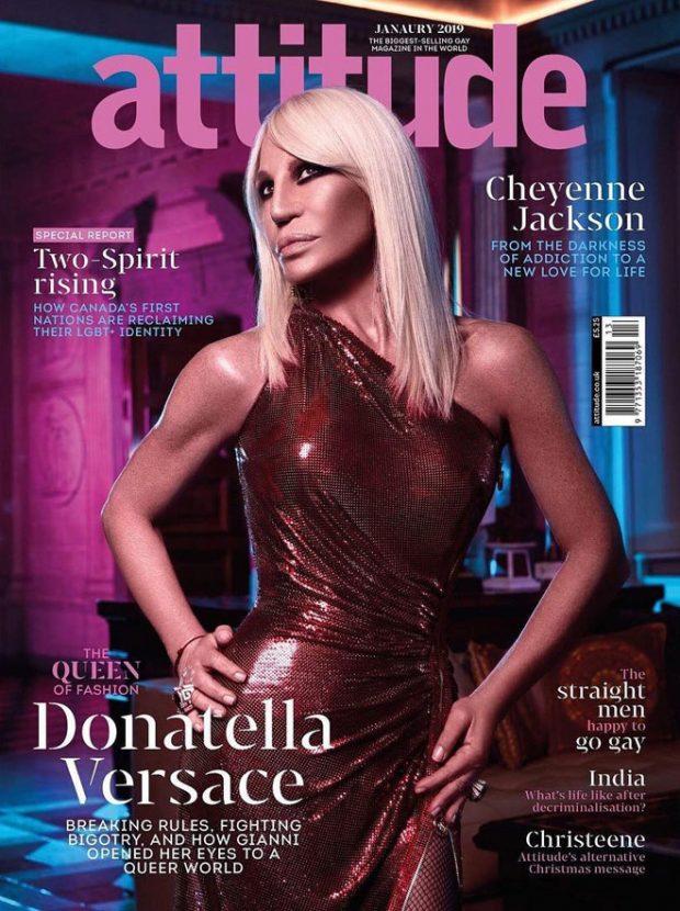 Attitude  All the January 2019 Magazine Covers We Loved and Hated donatella versace attitude magazine vijat m 01