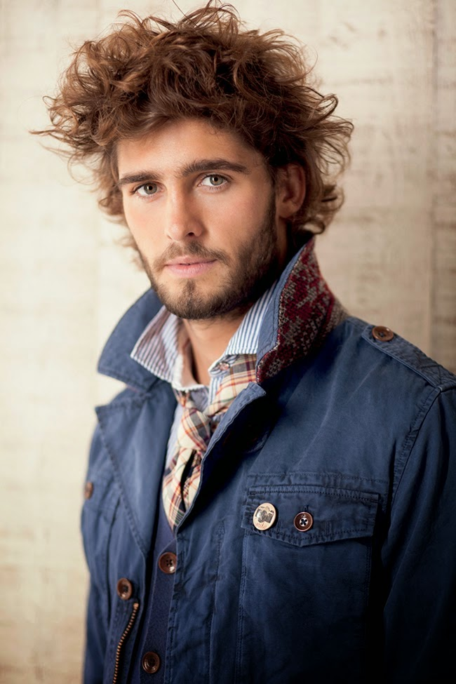 Surprising 30 Male Models With Beards Thefashionspot Natural Hairstyles Runnerswayorg