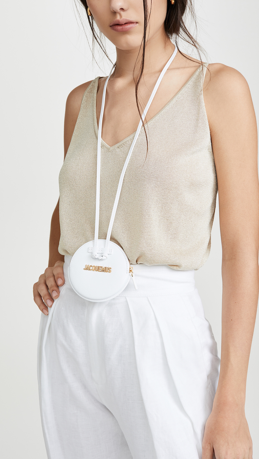 Apparently, Necklace Bags Are a Thing Now