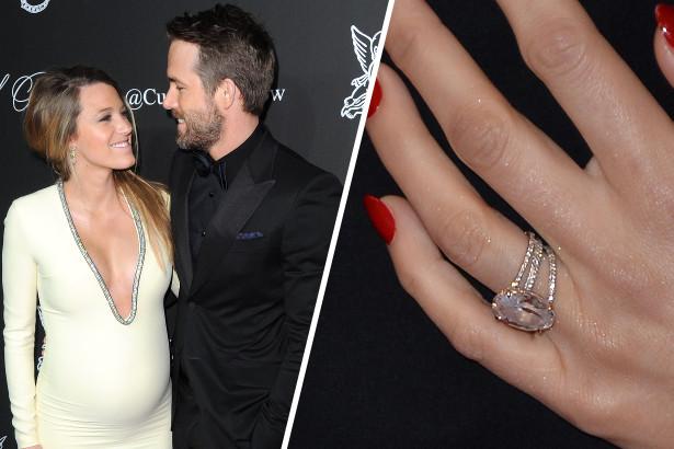 Blake Lively Wedding Ring.Blake Lively Wedding Ring Carats Famous Ring Images Nebraskarsol Com