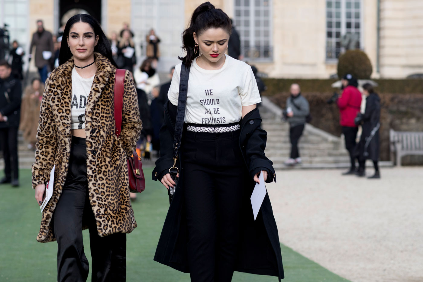 e9203a8e Trend Alert: We Should All Be Wearing Feminist T-Shirts - theFashionSpot