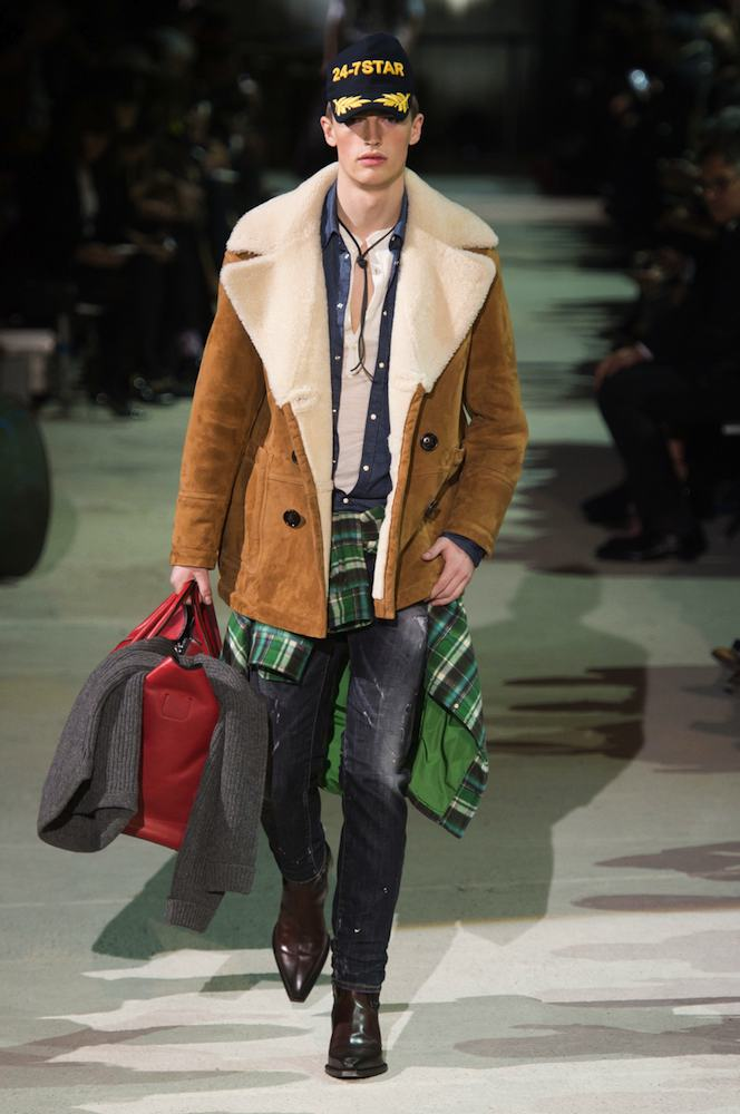 DSquared2 Men s Fall 2015 Runway - theFashionSpot 0f0df9a7b091