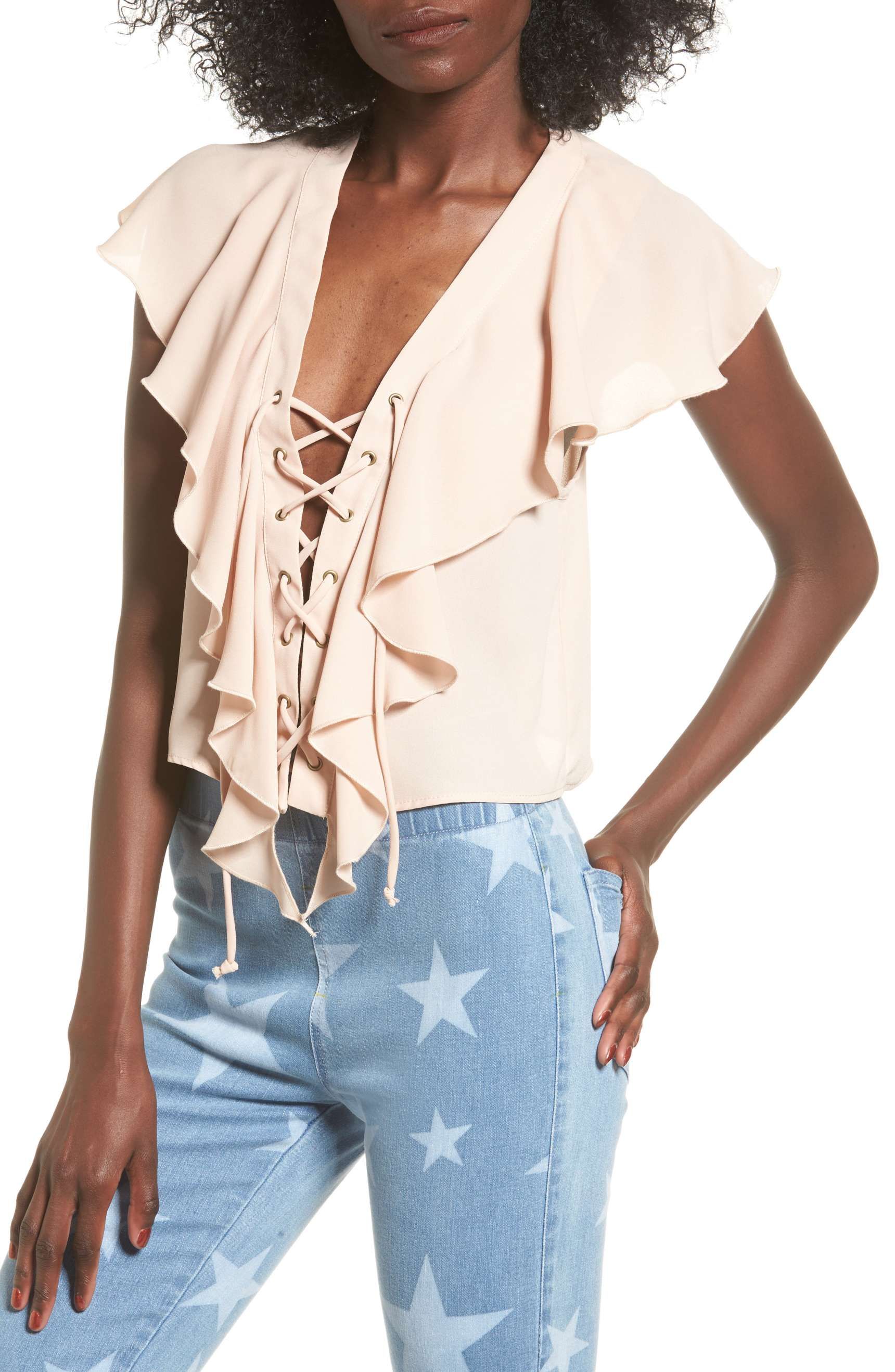 d715b5af08cef0 The Best Going-Out Tops to Wear With Jeans - theFashionSpot