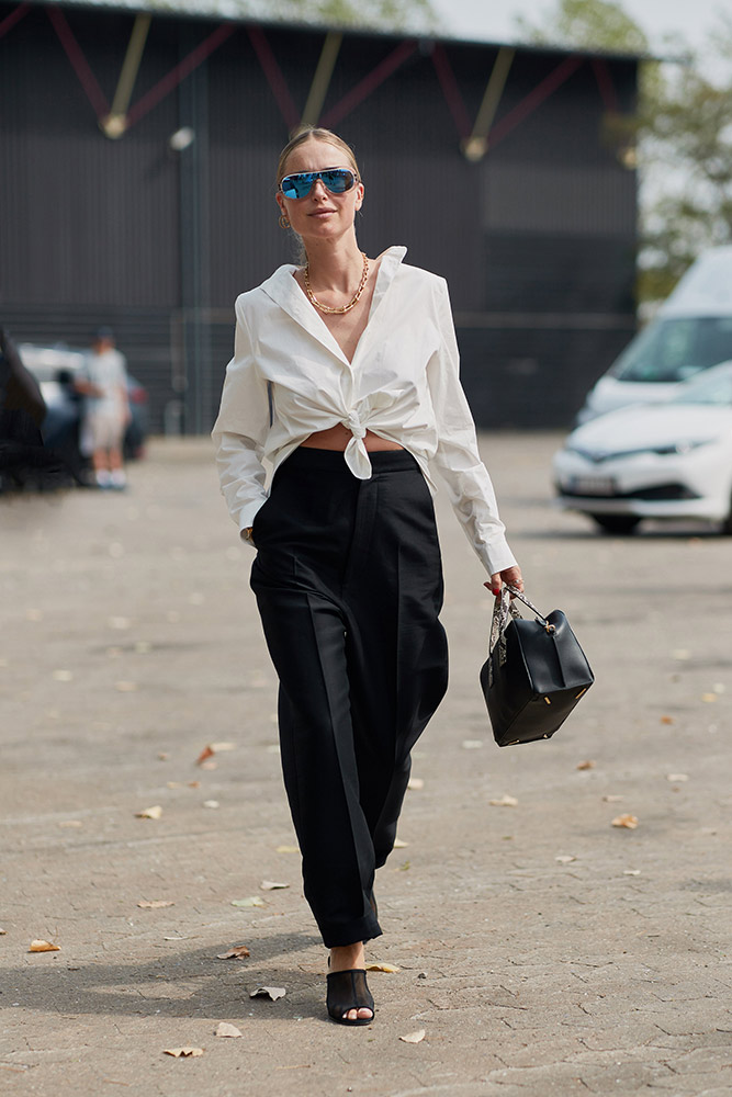 Transition Piece  How to Wear a Button-Down Shirt (But Make It Fashion) as transitioning piece