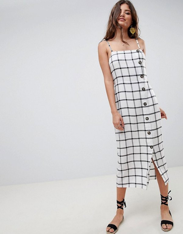 f3fb817dd655 Best Button-Front Dresses for Summer - theFashionSpot
