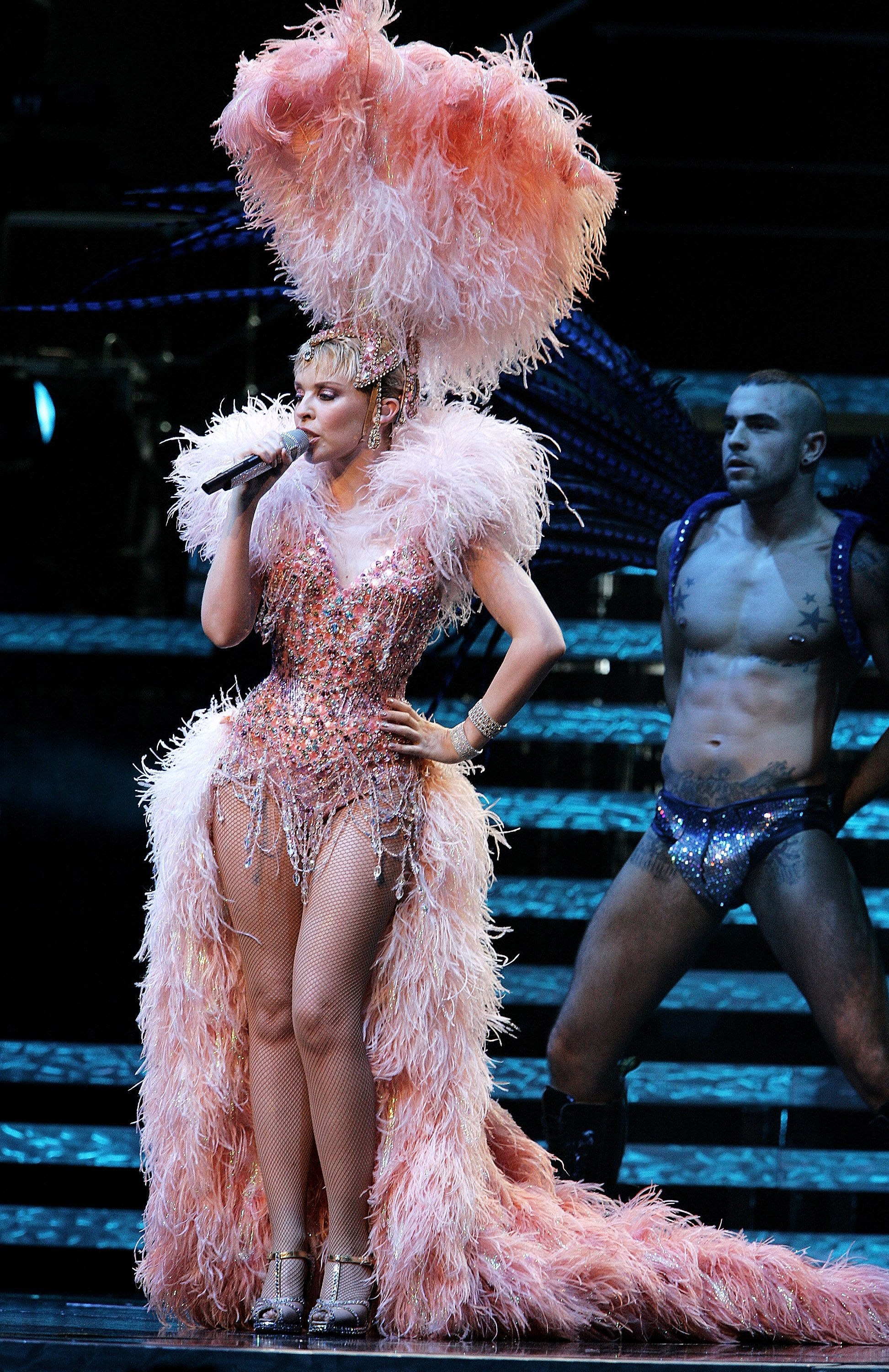 Fashion week Minogues kylie greatest showgirl outfits time for girls