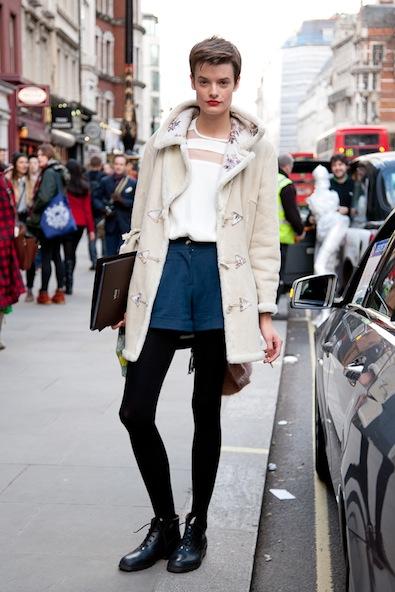Style street chronicles london fashion week fall fotos