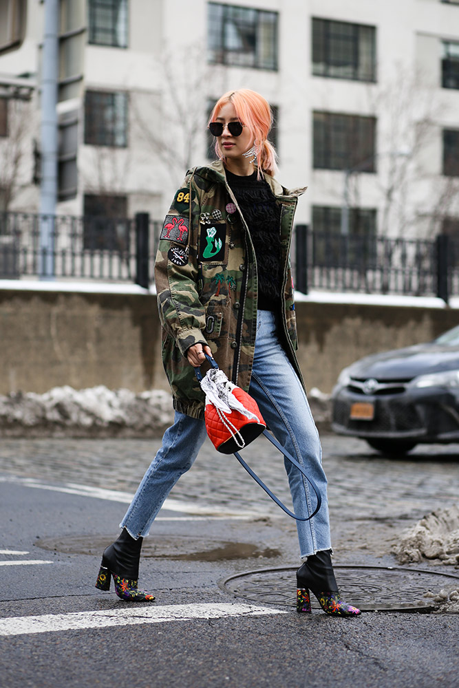 b8096e036a6 The Military Fashion Trend Gets a Much Needed Update - theFashionSpot