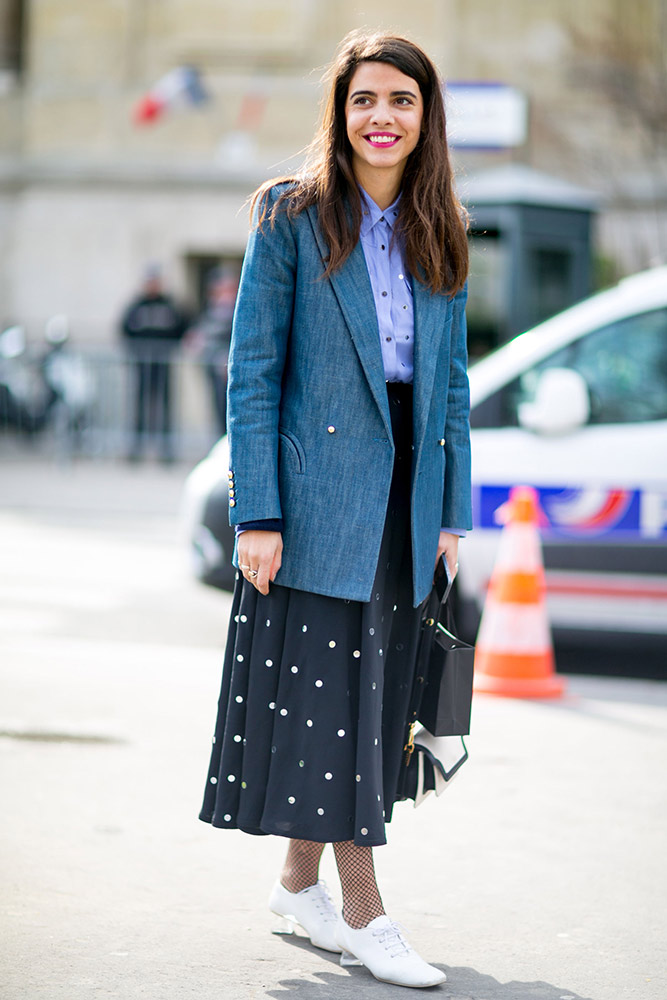 3c441c3a27098 101 Best Street Style Looks From Paris Fashion Week Fall 2016