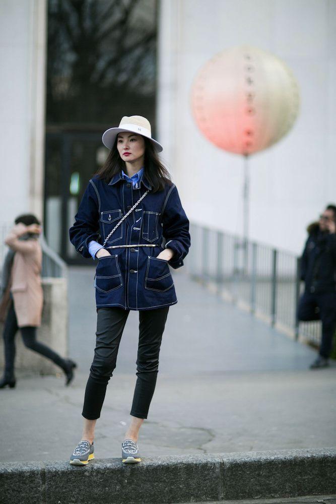 412d93176c1 Paris Fashion Week Fall 2015  Models Off Duty