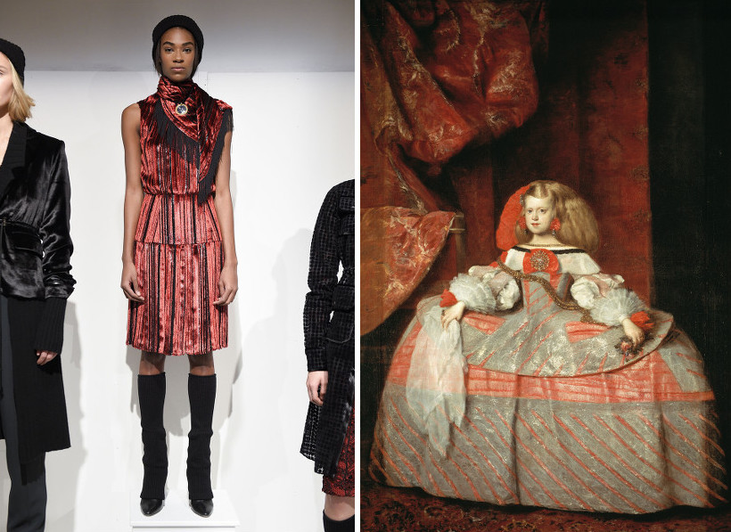 Runway Masterpieces Collections Inspired By Famous Artists Thefashionspot