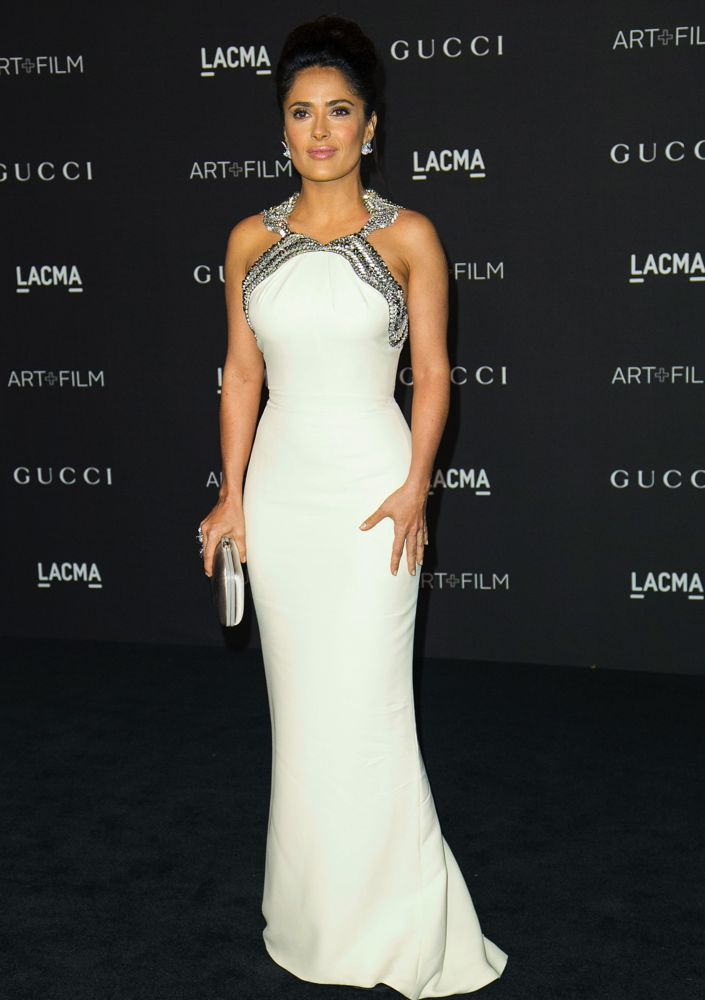 Salma Hayek S 14 Most Gorgeous Gowns Ever