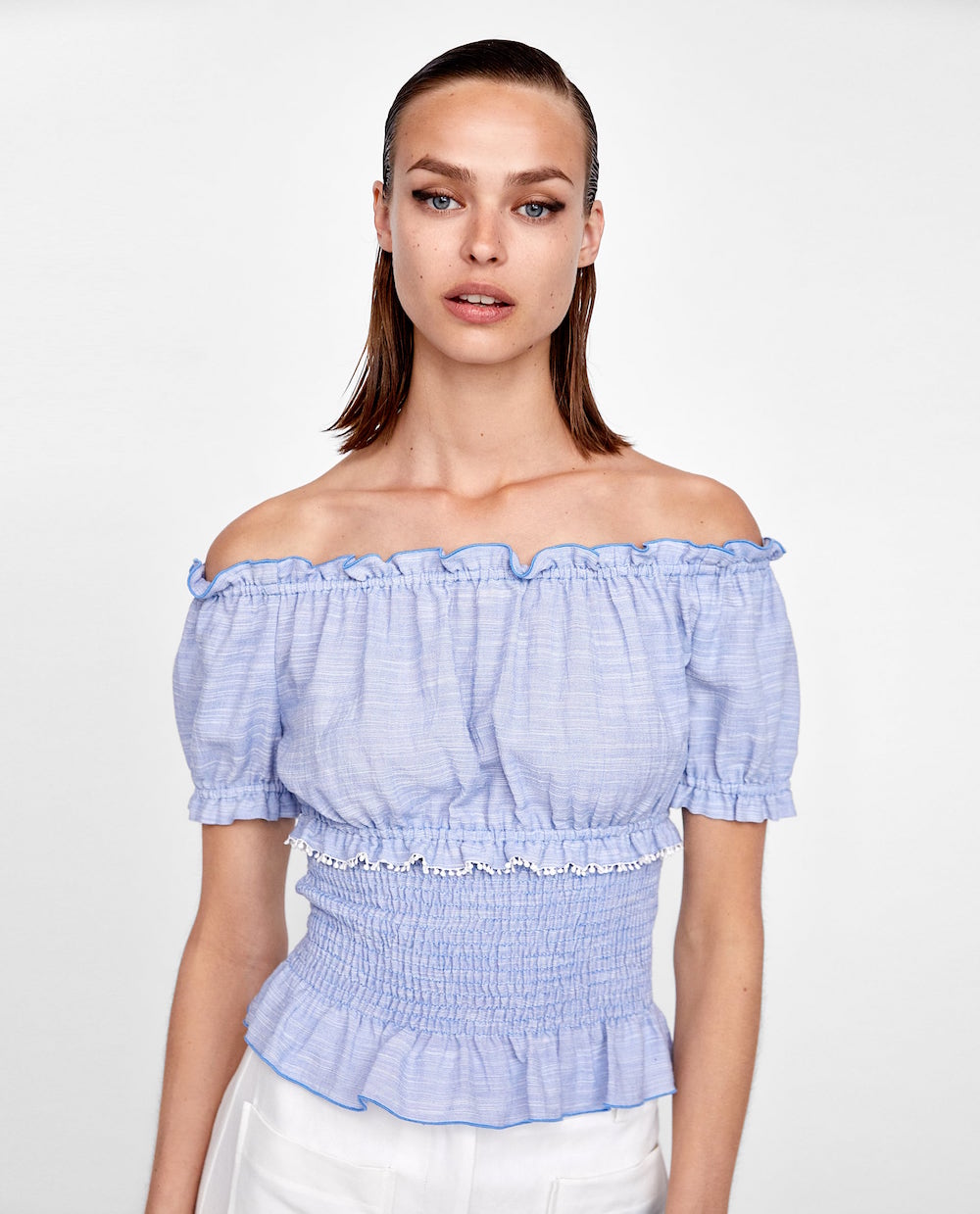 542e0836866 18 Smocked Tops to Rock This Summer - theFashionSpot