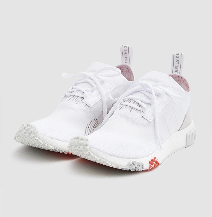 adidas Originals adidas Originals NMD R1 Womens WhiteWhiteLilac from Six:02 | ShapeShop