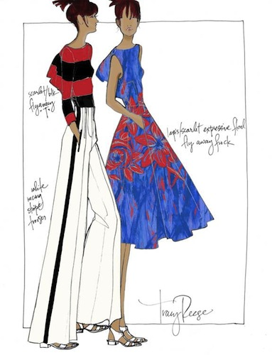 Fashion Week Preview Designers Share Spring 2014 Sketches And Inspiration Thefashionspot