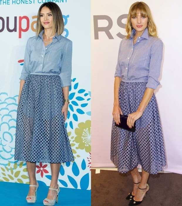 9d64be2468 Style Showdown: Which Celeb Wore It Best? - theFashionSpot