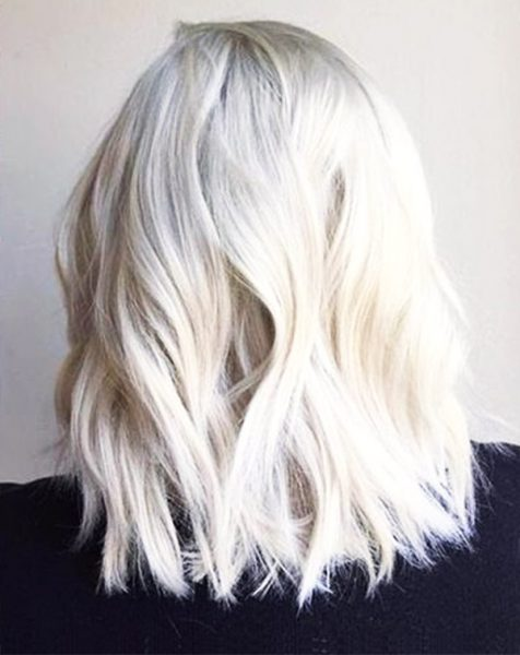 7 Platinum Blonde Hair Color Looks We Love Thefashionspot