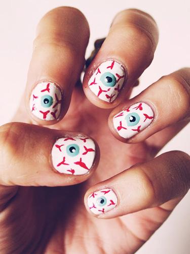 12 Best Halloween Nail Art Ideas On Pinterest Thefashionspot