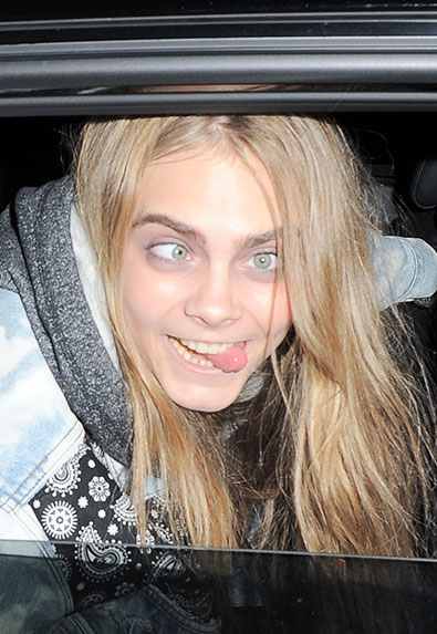 Cara Delevingne: The Ultimate Funny Faces Slideshow - theFashionSpot