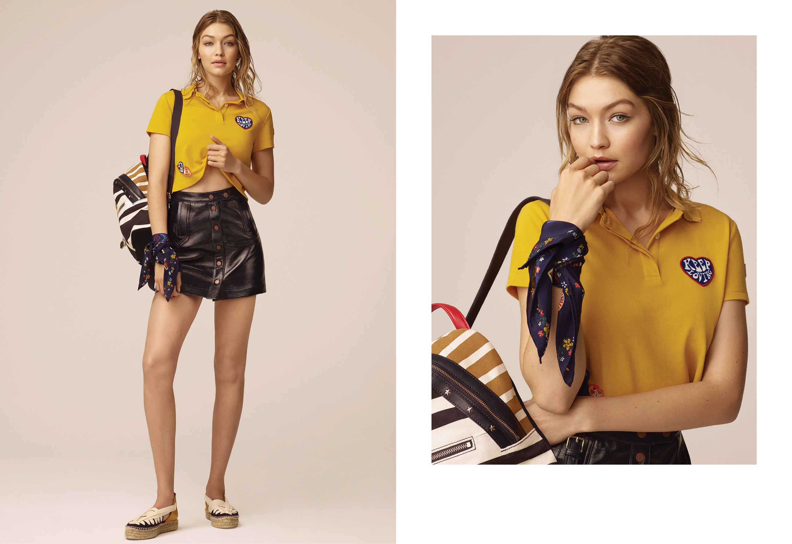 1b14e1e9c Here s Every Look From Tommy Hilfiger and Gigi Hadid s Latest Cali Girl  Collection