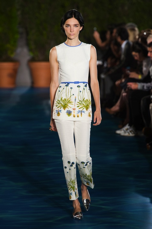 c1553b0cfe5 Tory Burch Spring 2014  French Riviera Down To The Last Drop ...