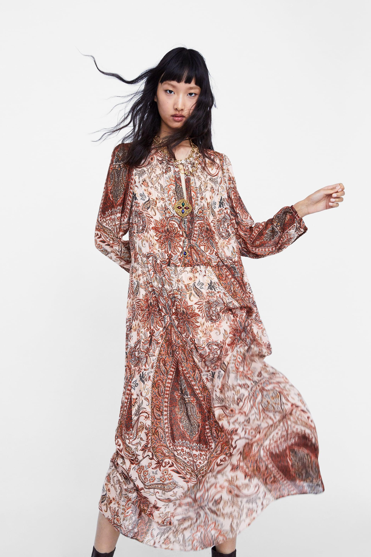 A Flowy Midi Dress
