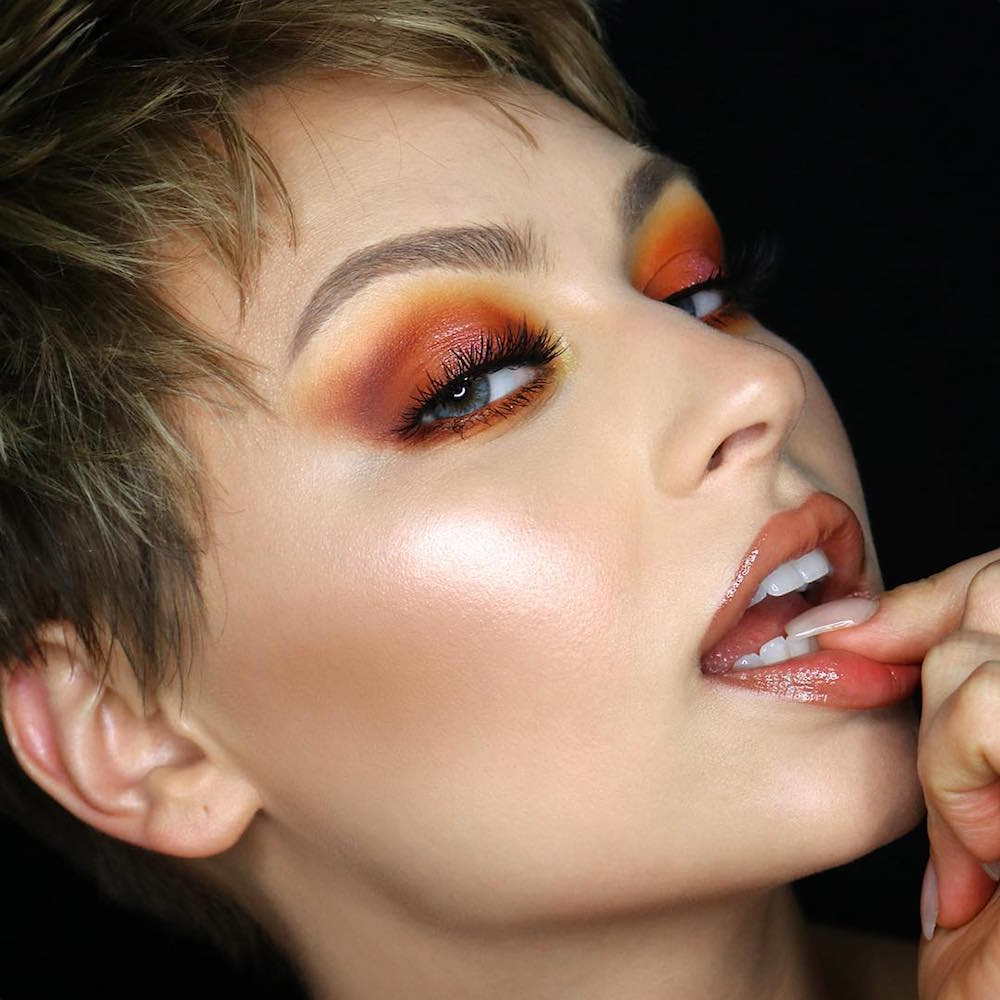 Makeup fall trends photo